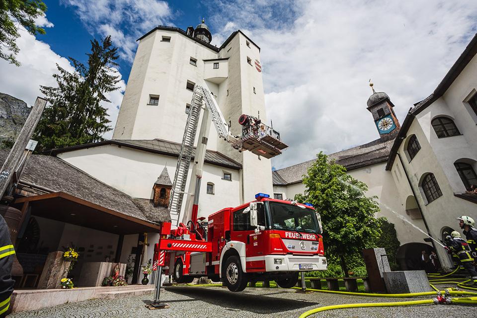 Feuerwehr Mariastein Abschnittsübung
